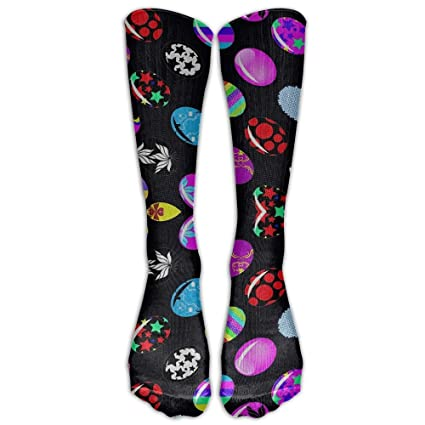 Dachshunds Floral Compression Socks Unisex Printed Socks Crazy Patterned Fun Long Cotton Socks Over The Calf Tube