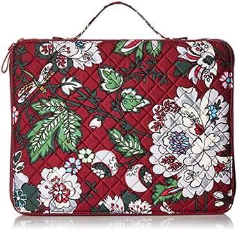Vera Bradley womens 22624-L93 Iconic Tablet Tamer Organizer, Signature Cotton One Size