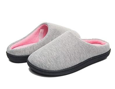 separation shoes 2ab21 86f44 Herren Damen Hausschuhe Memory Foam Anti-Rutsch-Indoor-Schuhe Warme Bequeme  Hausschuhe für den Winter