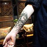 "Tatouage Temporaire ""Clock Arm"" - ArtWear Tattoo Skin - B0013 M"