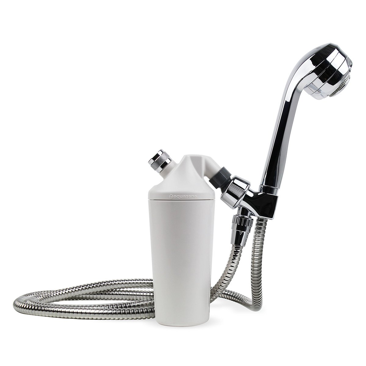 shower head filter system filtration with handheld wand chrome aquasana aq 4105 ebay. Black Bedroom Furniture Sets. Home Design Ideas