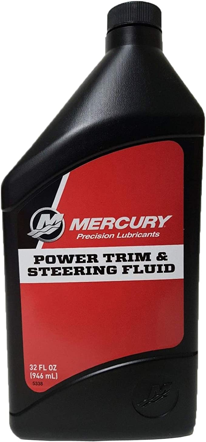 Mercury/Quicksilver parte Power Trim & Dirección Fluido 32 onzas): Amazon.es: Deportes y aire libre
