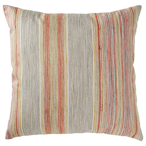 Sunset Cotton Fabric (Rivet Bohemian Stripe Pillow, 17