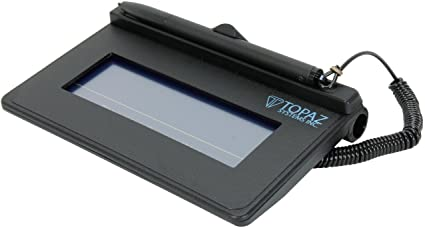 Topaz Signature Lite 1x5 T-S460-BR - with Serial/RS232 connection cable