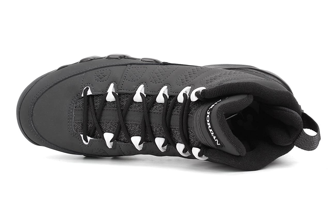 40b4d23245fd Amazon.com  Air Jordan 9 Retro Big Kids Style  302359-013 Size  5   Clothing
