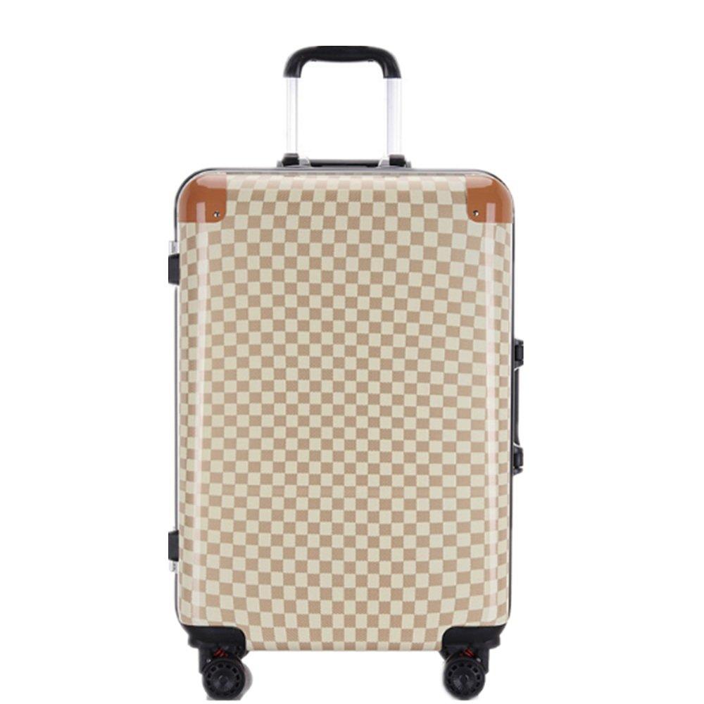 スーツケース 旅行および搭乗のためのABS + PCの物質的なスーツケースの普遍的な車輪USBの充満旅行者 B07VF9CFNQ