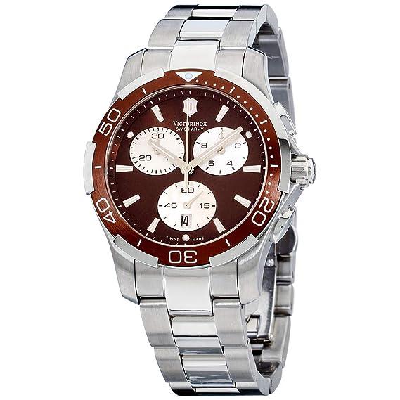 Victorinox 241502 - Reloj de Pulsera Mujer, Acero Inoxidable ...