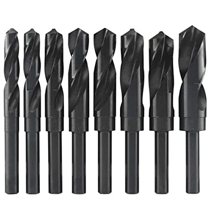 90 Degree Point Angle TiN Coated KEO 32104 High-Speed Steel NC Spotting Drill Bit Right Hand Flute 10 Overall Length Round Shank 1 Body Diameter