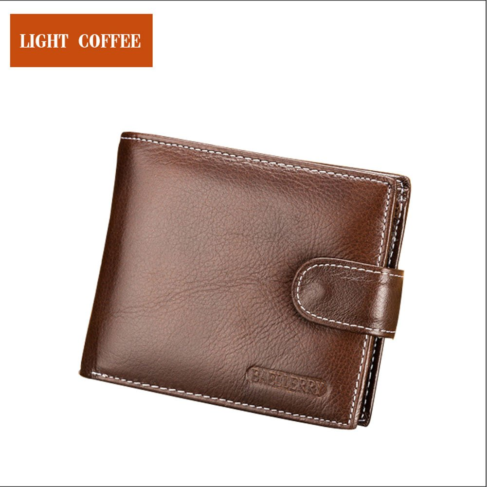 Small Wallet Men, Male leather Purse, Short Carteira Thin Credit Card Holder Wallets Small Wallet Men