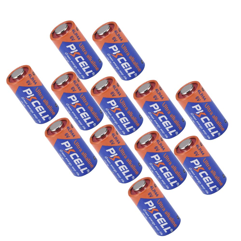 Dog Collar Alkaline Battery 6V 4LR44 476A 4A76 PX28A L1325 For 4pcs PKCELL