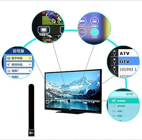 gaddrt Nouvelle televisor Claire Televisión HDTV gratuita Cable de derivación de antena digital interior: Amazon.es: Grandes electrodomésticos