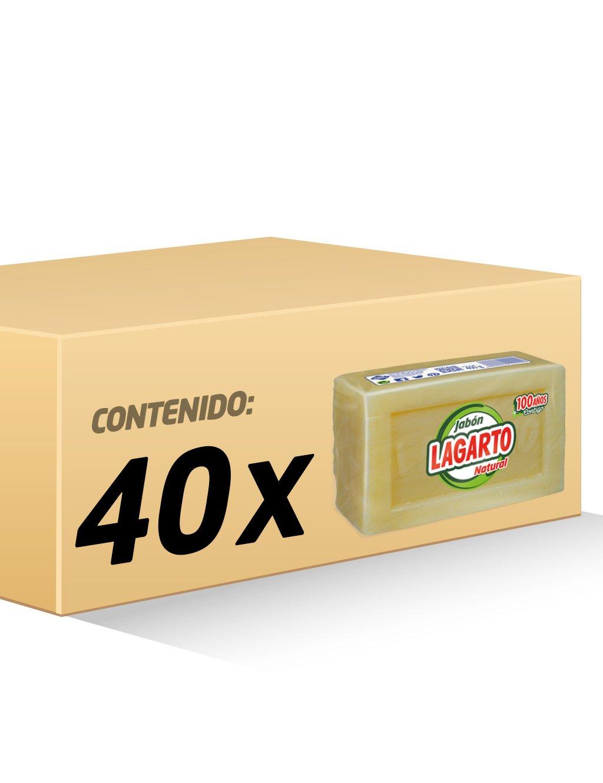 Lagarto - Jabón natural - 400 g - [paquete de 8]: Amazon.es: Belleza
