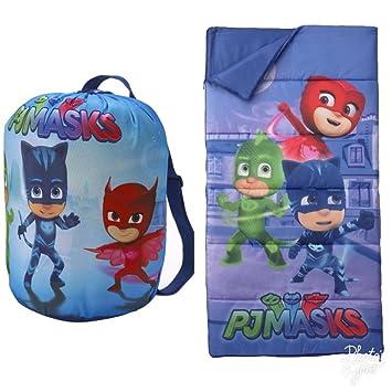 PJ Masks Kids Sleeping Bag and Carry Sack