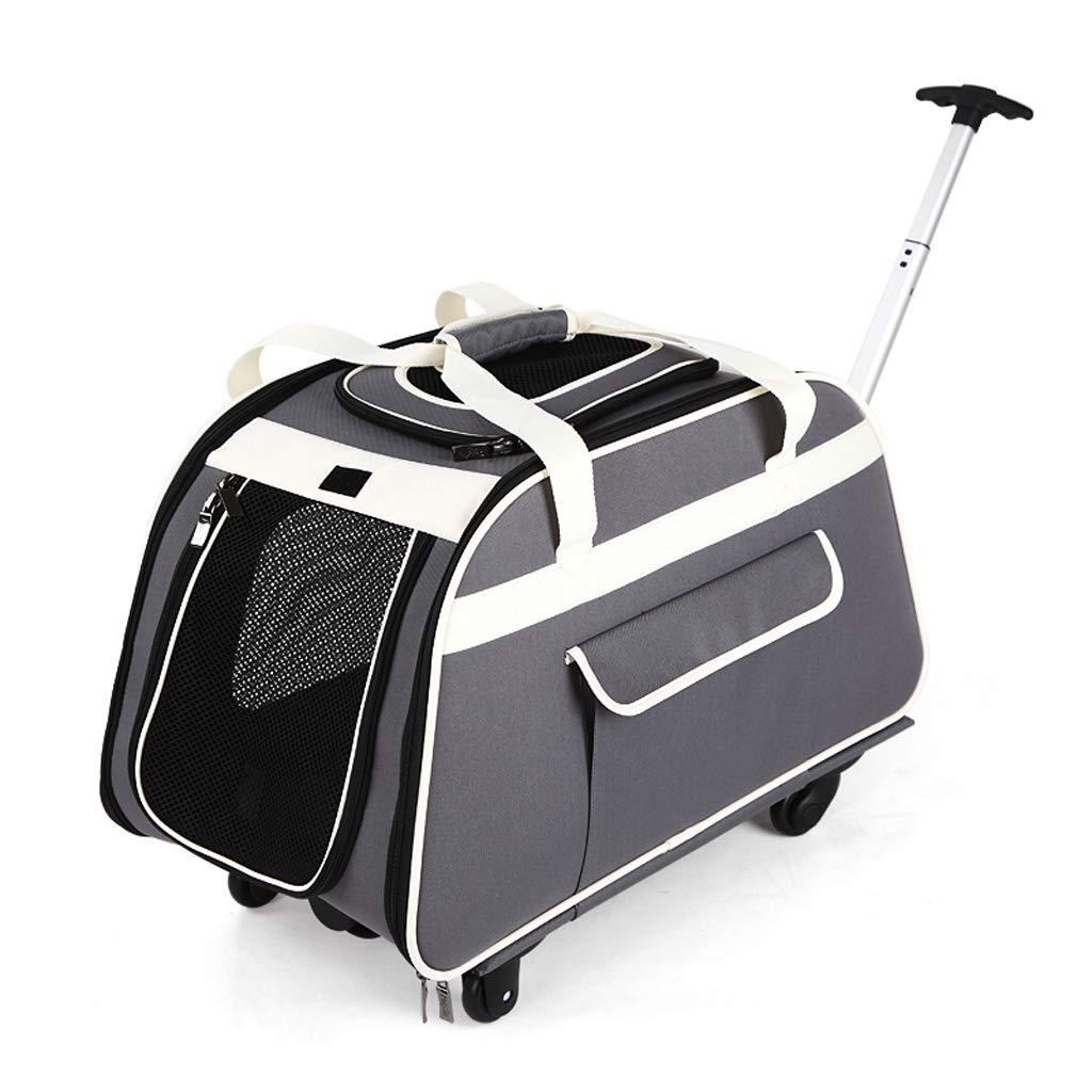 Pet Bag, Pet Trolley Bag Dog Out to Carry Cage Dog Backpack Cat Bag Pet Bag