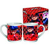 Taza Prodigiosa Ladybug Dots ceramica mediana 8oz