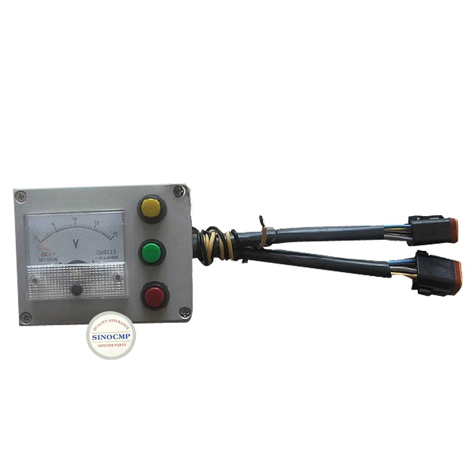 E320B Panel Tester - SINOCMP Panel Tester Excavator Access Voltage 24V Throttle Motor Test Tool for E320B E320C 320B 320C Excavator Parts, 3 Month Warranty by SINOCMP (Image #1)