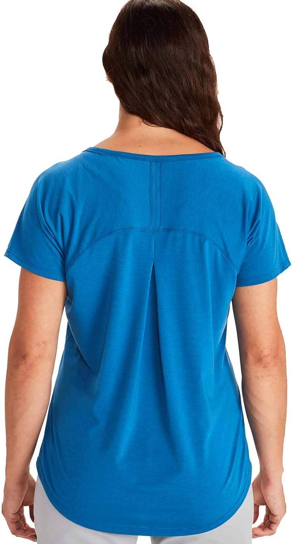Marmot Neaera Kurzarmshirt, Maglietta a Maniche Corte da Donna Classico blu