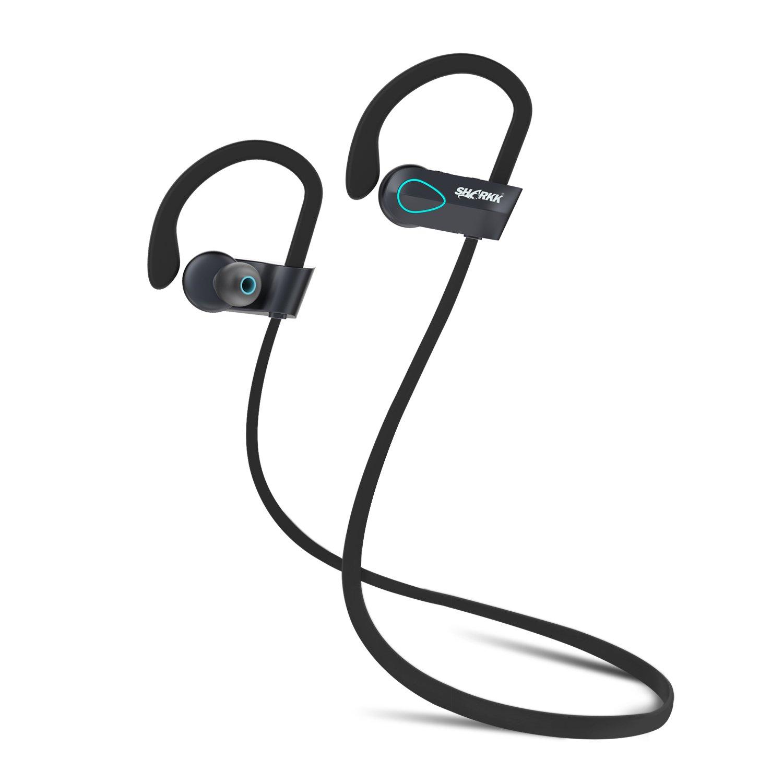 Amazon: Upgraded Sharkk Flex 2o Bluetooth Headphones Wireless Ip67  Sweatproof Waterproof Sport Earbuds With Mic: Cell Phones & Accessories