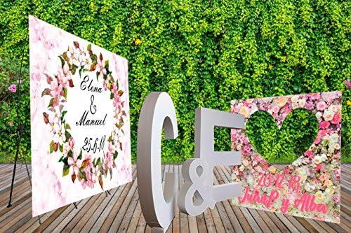 Pack Photocall Letras de Corcho Porexpan 100x 10cm de Grosor ...