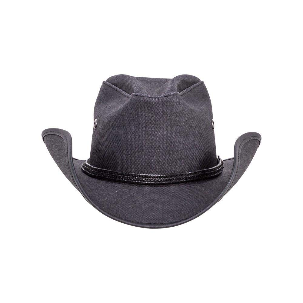 American Hat Makers Stockade by Double G Hats Leather Top Hat