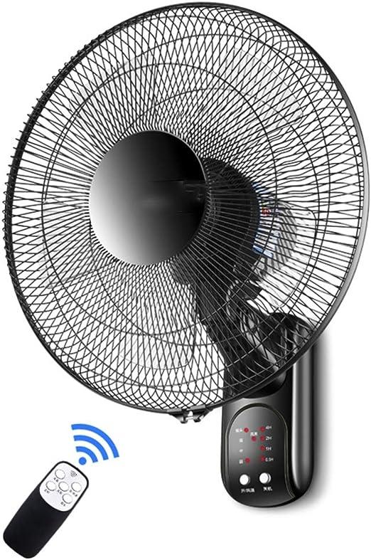 ZAQI Ventilador Pared Ventiladores de Pared Que oscilan con un ...