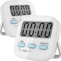 RabbitStormTemporizador Digital de Cocina, Cronometro de Cocina, Uso Simple, Base Magnética, Dígitos Grandes…