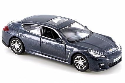 RMZ City Porsche Panamera Turbo, Gray 555002 - Diecast Model Toy Car but NO BOX