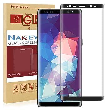 Verre Trempé Note 8, Nakeey Samsung Galaxy Note 8 Protection d écran  Couverture Complète 263be3a69154