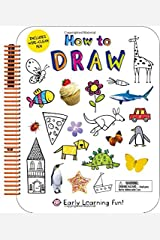 How to Draw: Includes Wipe-Clean Pen (Early Learning Fun) Spiral-bound