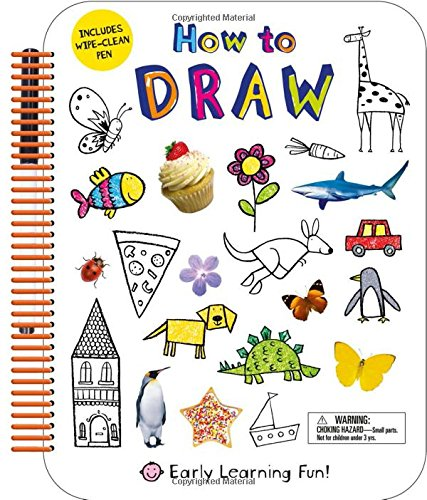 s Wipe-Clean Pen (Early Learning Fun) (Spiral Draw Book)