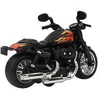 Motocicleta de juguete de aleación eléctrica, modelo