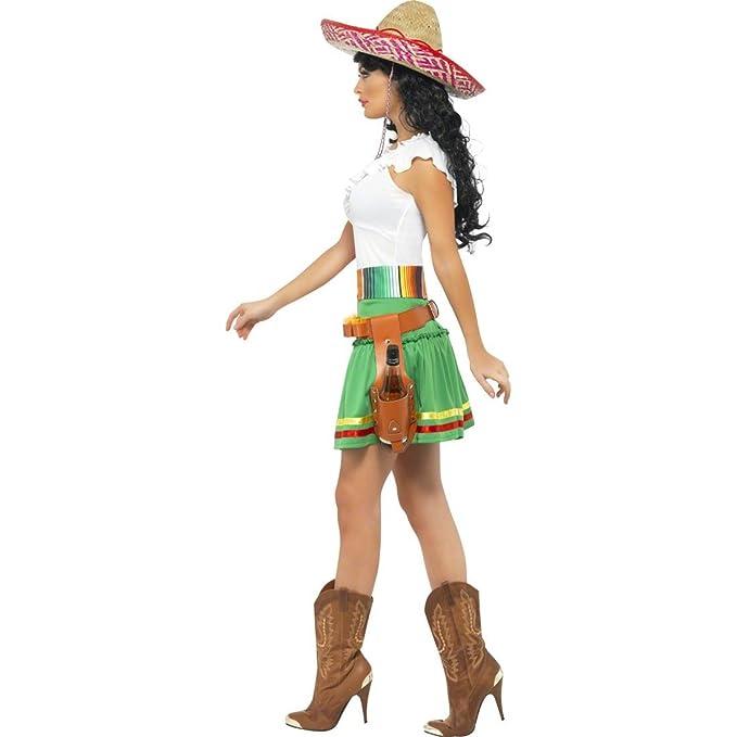 NET TOYS Traje de Mujer Mexicana Disfraz México Vestuario ...