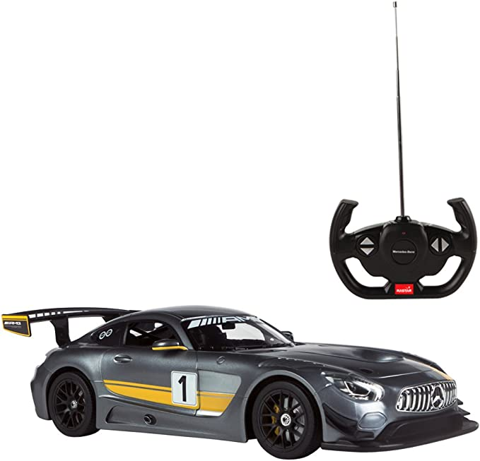 Rastar Coche teledirigido Mercedes AMG GT3 Performance, Escala 1 ...
