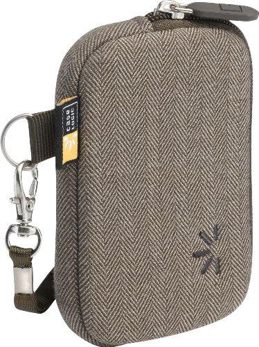 Case Logic UNZT-2 Compact Camera Case (Brown Herringbone)