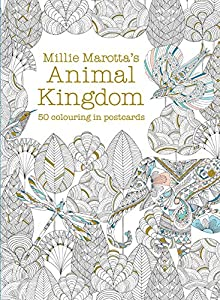 Millie Marotta's Animal Kingdom Postcard Box: 50 beautiful cards for colouring in (Colouring Books)
