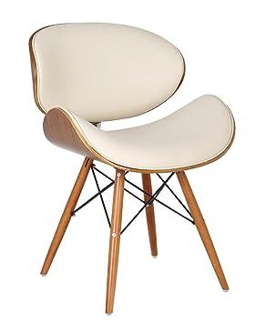 Style Similicuir En Avec Chaise Dsw De Retro Pieds Bureau Folkbury QxCoWErdeB