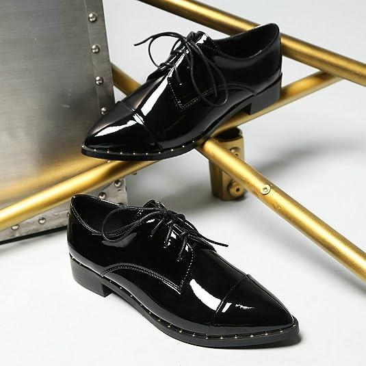 AnMengXinLingZONGHENGXIEDAO 70 855 1 Zapatos Oxford Mujer