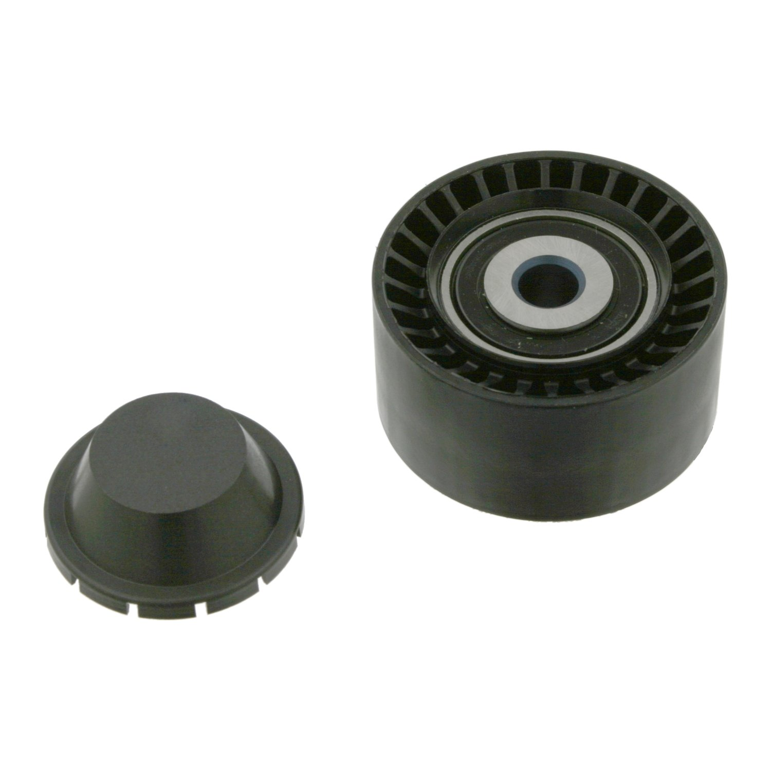 pack of one febi bilstein 03673 Idler Pulley for auxiliary belt