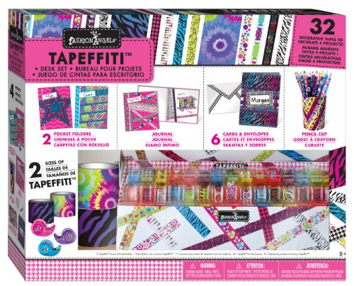 Fashion Angels Tapeffiti Desk Set with X-Wide Tapeffiti