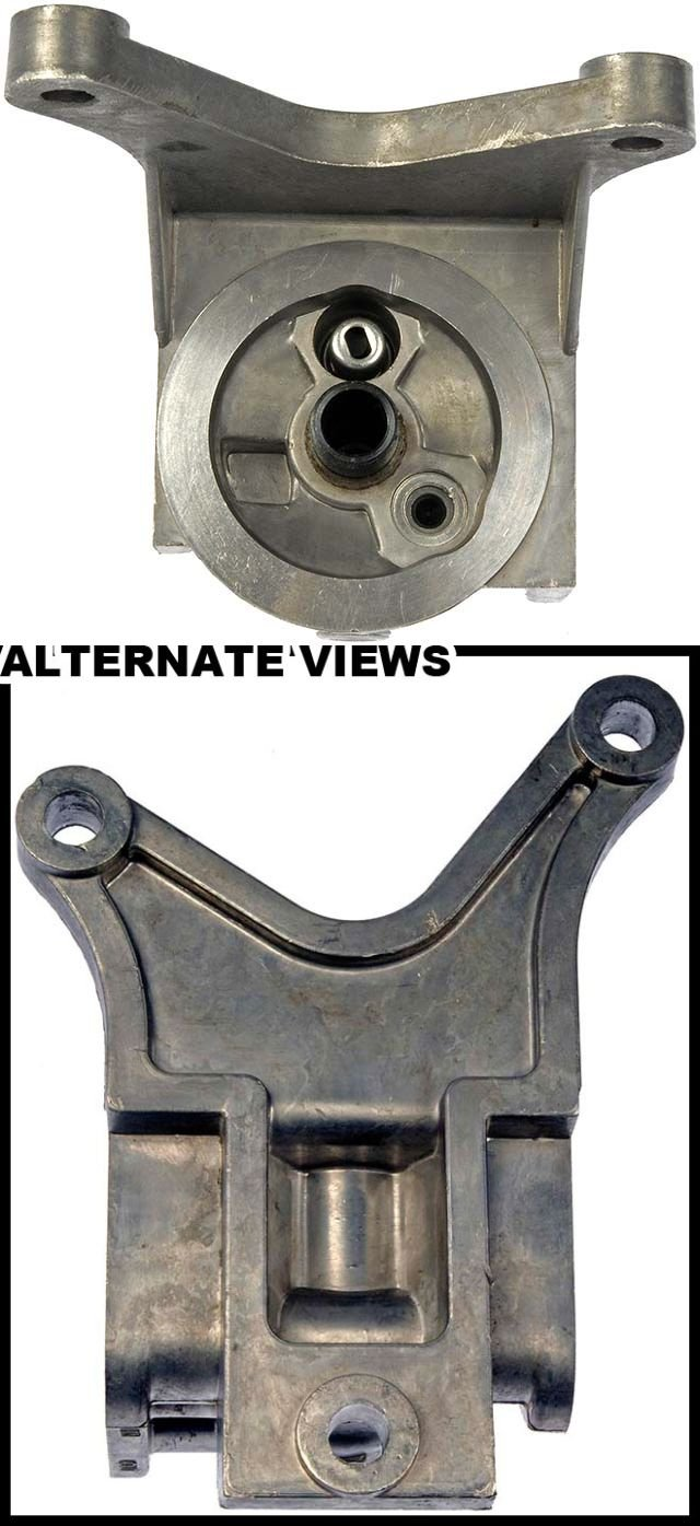 APDTY 028146 Engine Oil Filter Adapter Block Housing Aluminum 4.3L (GM 10236272)