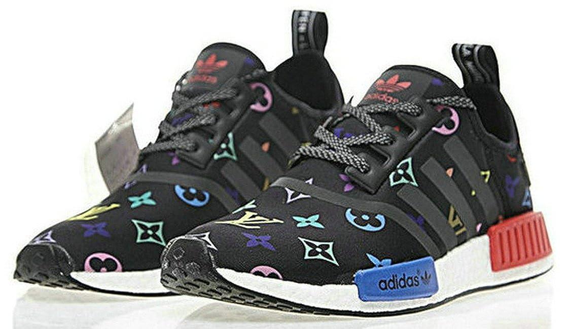 NMD R1 Louis Vuitton X Boost 038 Chaussures de Gymnastique Homme Femme: Amazon.fr: Chaussures et Sacs