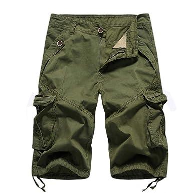 Pantalones De Chándal para Hombre Pantalones Cortos Único Carga De ...