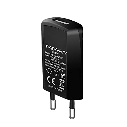 OAONAN Cargador USB Ultra Delgado Cargador de Teléfono Móvil de Pared Cargador para Apple iPhone 6/6 Plus, iPad Air 2 / mini 3, Samsung Galaxy S6 / S6 ...