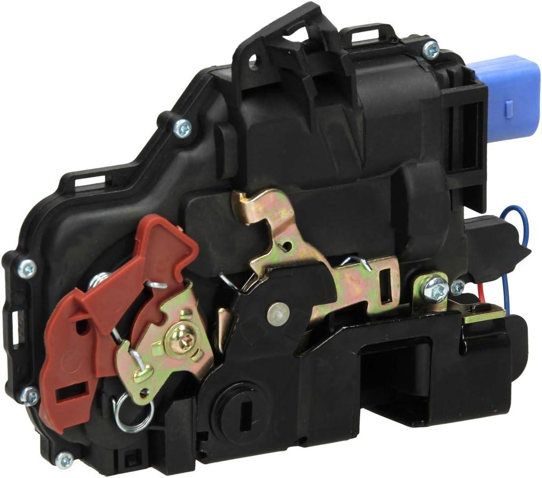 ECD Germany TS-086 Cerradura de Puerta actuador Cierre centralizado ZV Micro Interruptor Trasero Izquierdo para Coches