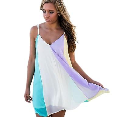 9f9358175 Turkey Plus Size Women Beach Cover Ups, Ladies Rainbow Colorful Beachwear  Swimwear Bikini Cover Up Summer Dresses: Amazon.co.uk: Clothing