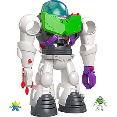 Fisher-Price Imaginext Playset Featuring Disney Pixar Toy Story Buzz Lightyear Robot: Toys & Games