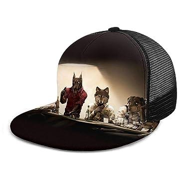 Gorra de béisbol con diseño de Perros y Chips, Casino, Gorras de ...