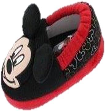 Mickey Mouse Disney Boys Slippers 11-12 M US Little Kid, Multi