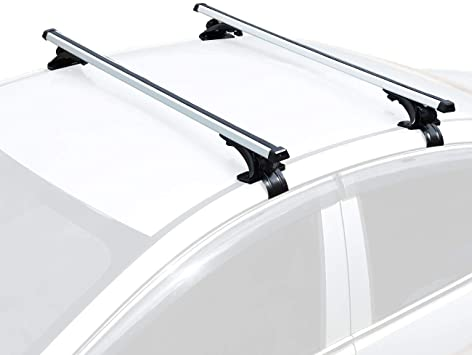 Universal Auto Car Top Roof Rack Cross Bars Luggage Carrier Mount For SUV Jeep
