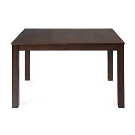 @Home by Nilkamal Butterfly 4 Seater Extendable Dining Table (Burn Beech)